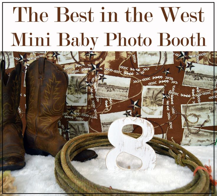 You need to turn out your horse and care for your new baby, so why spend time and money on a photographer when you could get a country inspired photo booth sent directly to you! This photo booth is yours to keep forever so you can use whenever. Get professional studio like photos all from the comfort of your home with Baby Boothz. These boothz come with the backdrop, fur flooring, and a stand so it can be used virtually anywhere. You can also purchase wooden number to document your baby's…