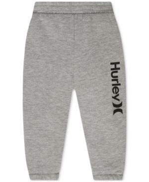 Hurley Baby Boys' Jogger Pants - Gray