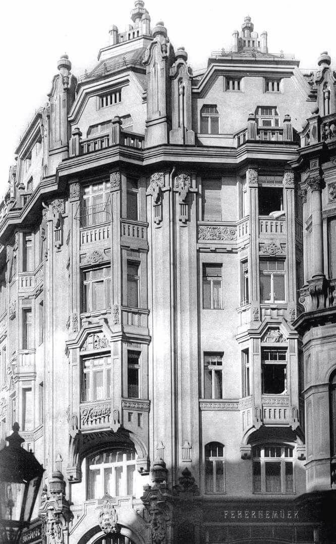 1910 körül, Deák Ferenc utca 10.