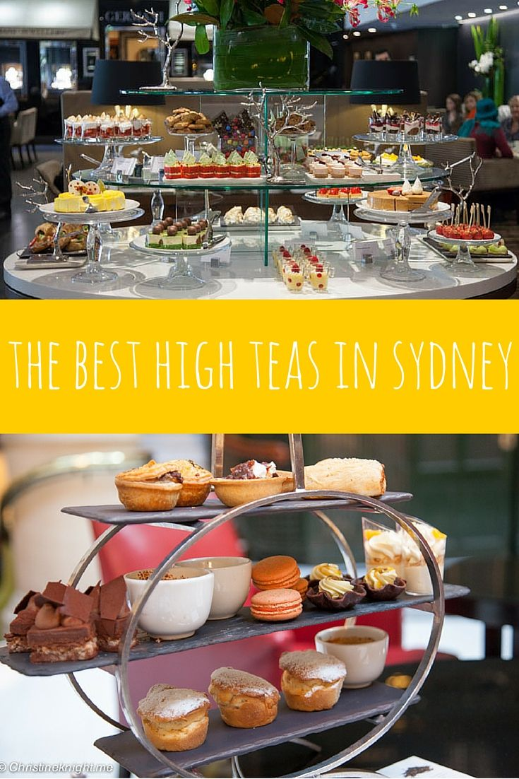 Sydney's Best High Teas via chrisitneknight.me