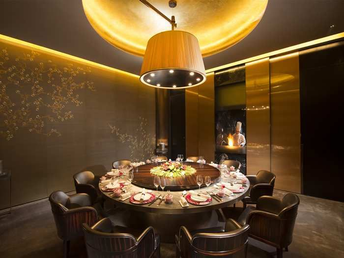 Conrad Beijing Hotel, China   Lu Yu Private Dining Room