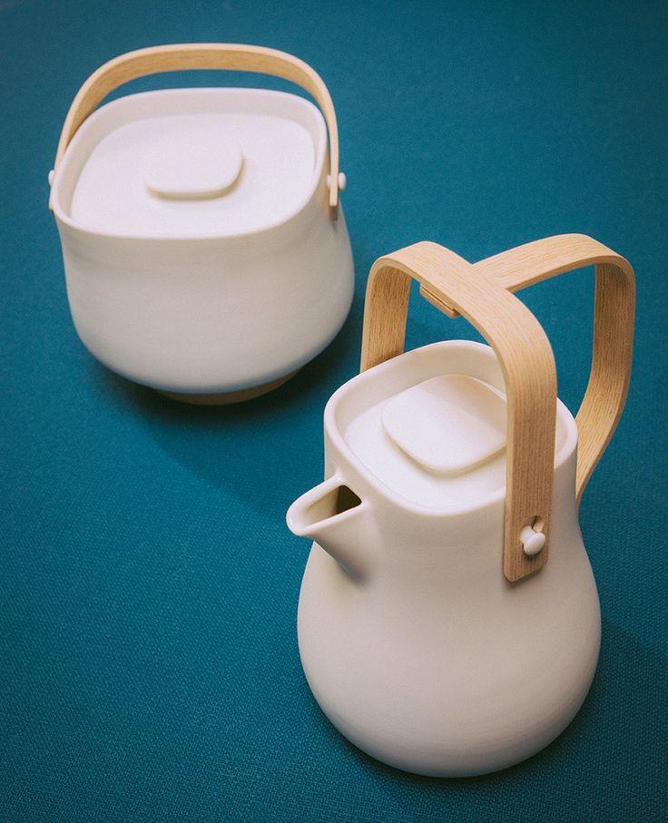 tablewares for toshiba design by Studio Lagranja