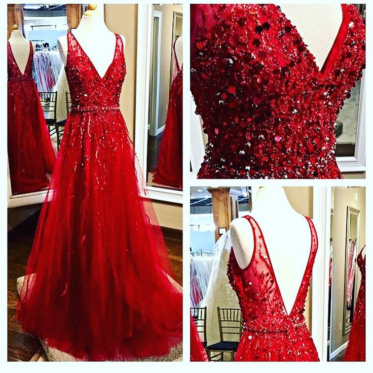 Red Prom Dresses,Prom Dress,Red Prom Gown,Prom Gowns,Elegant Evening Dress,Modest Evening Gowns,Simple Party Gowns – carry A4L