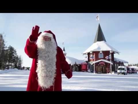 Videos: Christmas House Santa in Santa Claus Village Rovaniemi Lapland