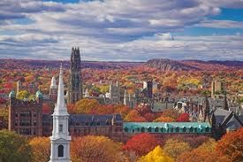 New Haven, Conn. in the fall. It was lovely. Australian eyes are unaccustomed so such dramatic fall scenery and colours.