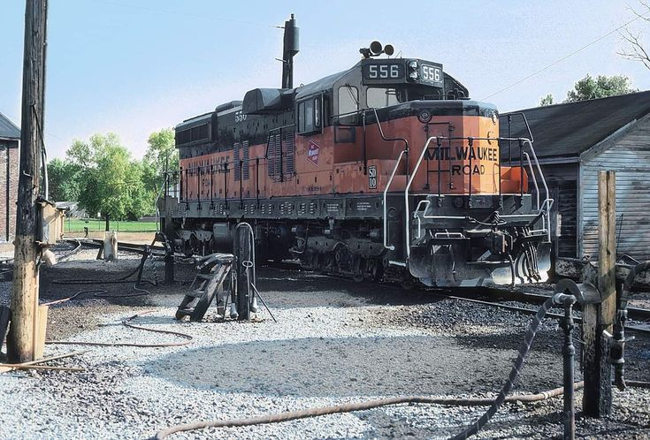 Dunlap mn | Milwaukee road, Railroad photography, Model ...