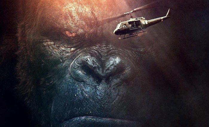 'Kong: A Ilha da Caveira' ganha IMPRESSIONANTES cartazes com King kong