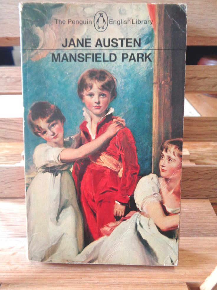 Vintage Penguin paperback book Mansfield park Jane Austin romantic romance novel satire irony town versus country classic literature by TrooperslaneBooks on Etsy