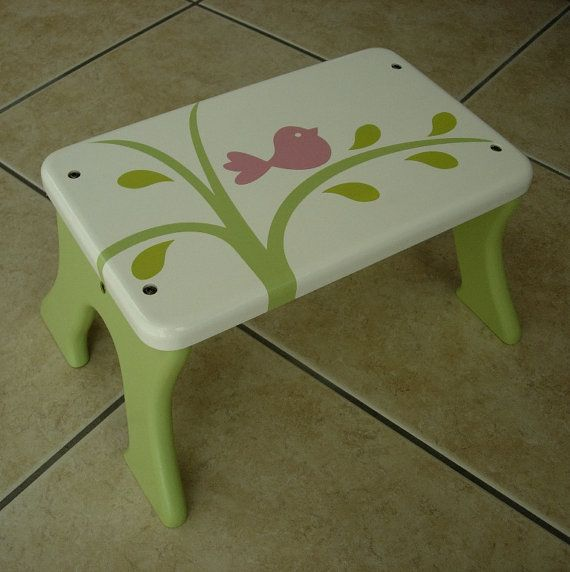 bird-step-stool-wooden-wood-mdf-green & 227 best Bancs images on Pinterest | Chairs Painted furniture and ... islam-shia.org