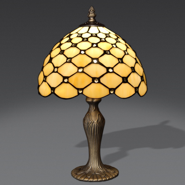 GA10026 Tiffany Style Table Lamp Www.artedalmondo.it