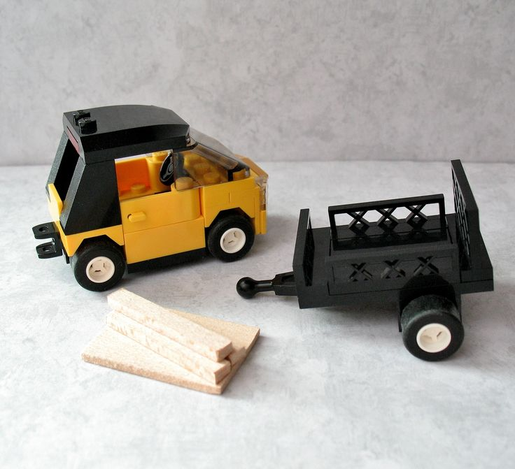 How to make a lego city car