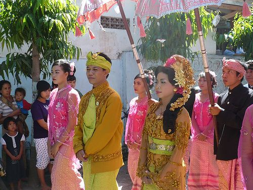 Indonesia | A festive procession in Lombok.
