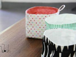 Le tuto du panier en tissu { DiY pour le weekend } • Hellocoton.fr