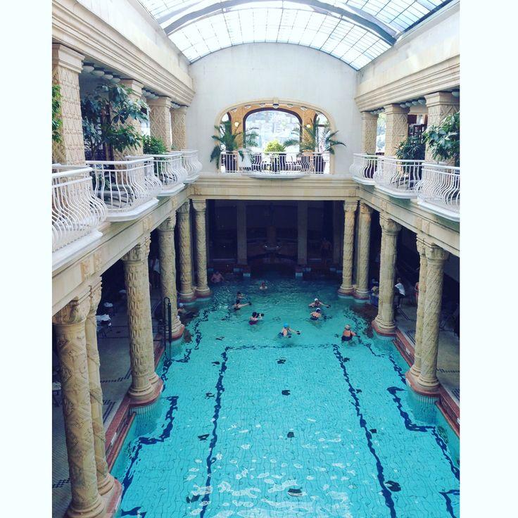 Gellért Thermal Baths, Budapest.