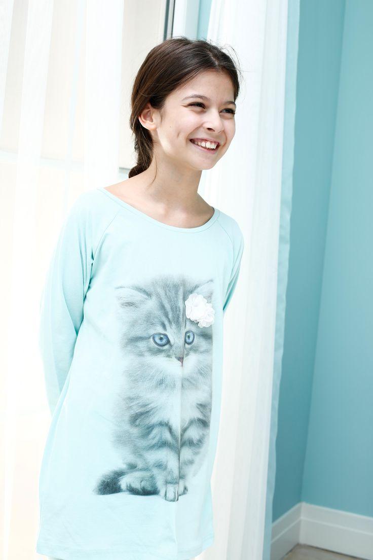 Pajama for little girls /Penye kiz cocuk pijamasi