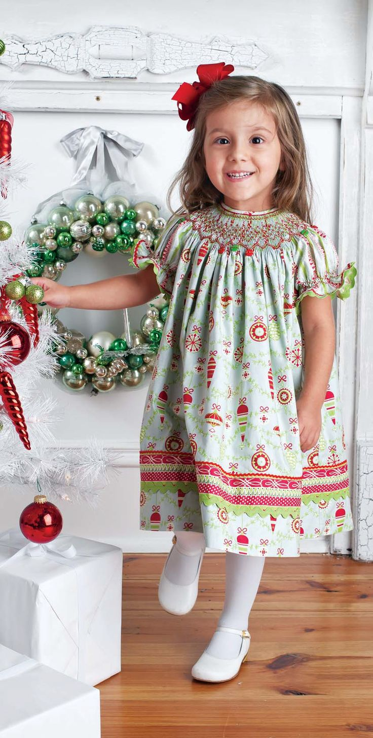 How To: Smocked Christmas Bishop