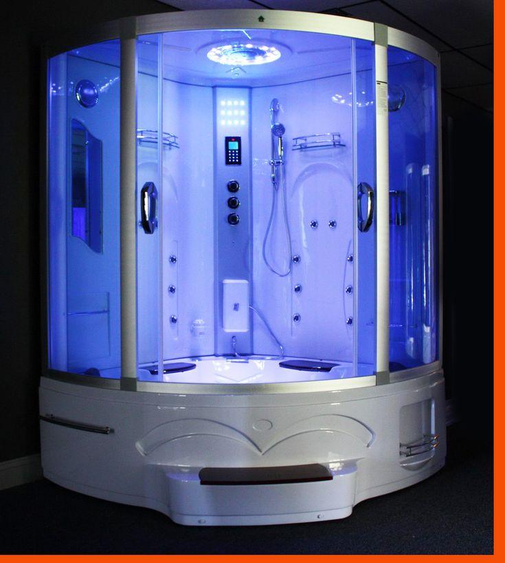 Photos On Steam Shower Room XXL w Whirlpool Tub Jacuzzi Ozone Year Warranty