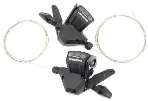 Shimano Deore M590 9 Speed Trigger Shifter - Adertocycles.ie.http://www.adertocycles.ie/shimano-sl-m590-deore-9-speed-rapidfire-shifters-set-black-3-x-9-speed/