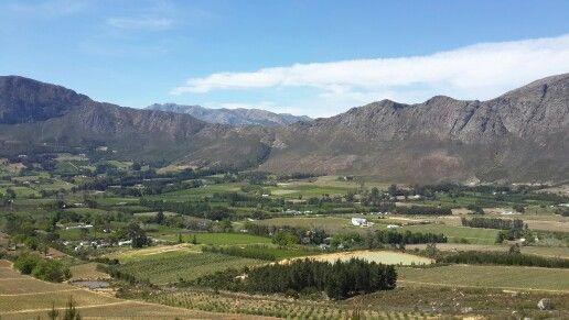 Franschoek Valley - Western Cape - South Africa #Franschoek