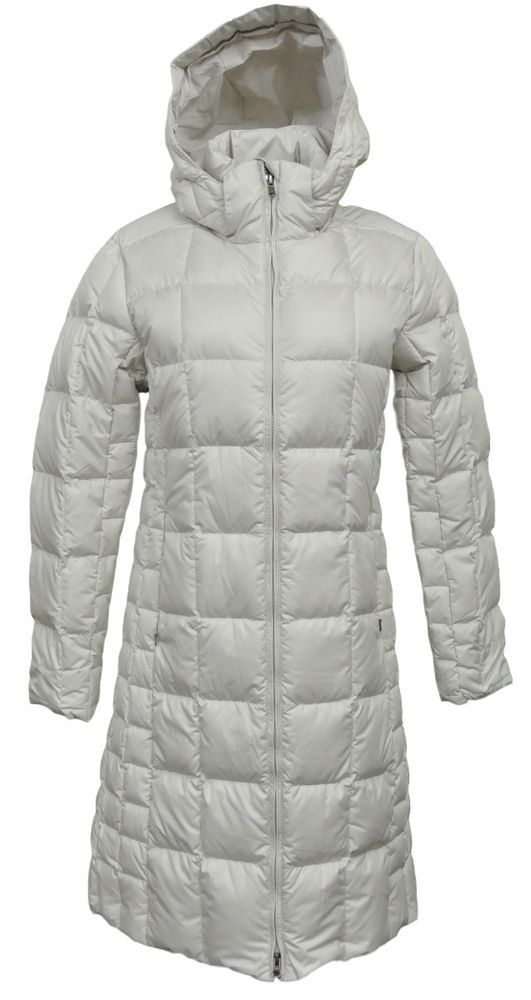 NEW PATAGONIA Down With IT Parka Coat Bleached Stone Small S #Patagonia #ParkaCoat