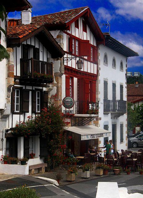 Ainhoa, Basque country, Aquitaine FRANCE pais vasco, francia