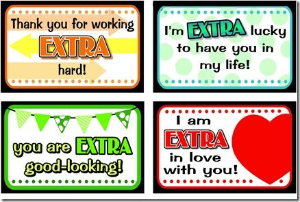 Printables for Extra gum: Food Gifts, Teacher Gifts, Valentines Ideas, Gifts Ideas, Sweet Gifts, Extra Notes, Love Note, Free Printable, Gifts Tags