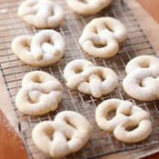 Kringla--This Norwegian cookie is bland but surprisingly addictive. It never lasts long with my family or friends!