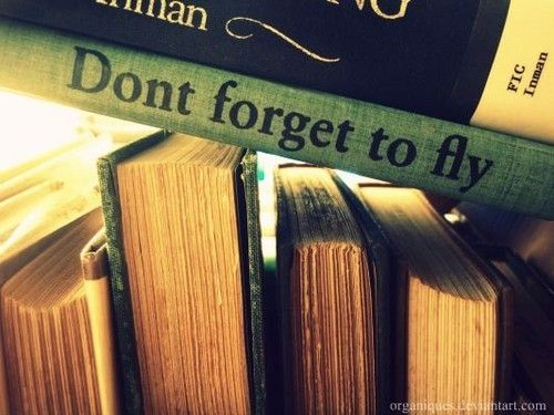 don't forget to fly.