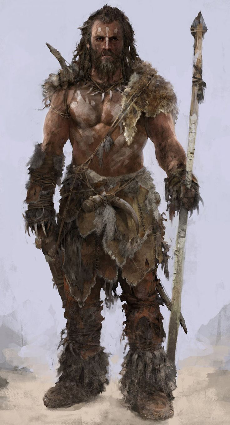 Caveman Concept Art : Best barbarian images on pinterest character ideas