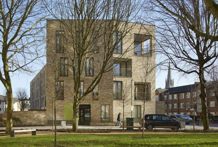 Alison Brooks Architects _ Ely Court _ South Kilburn Estate Regeneration _ Photo Ely Court Close Up