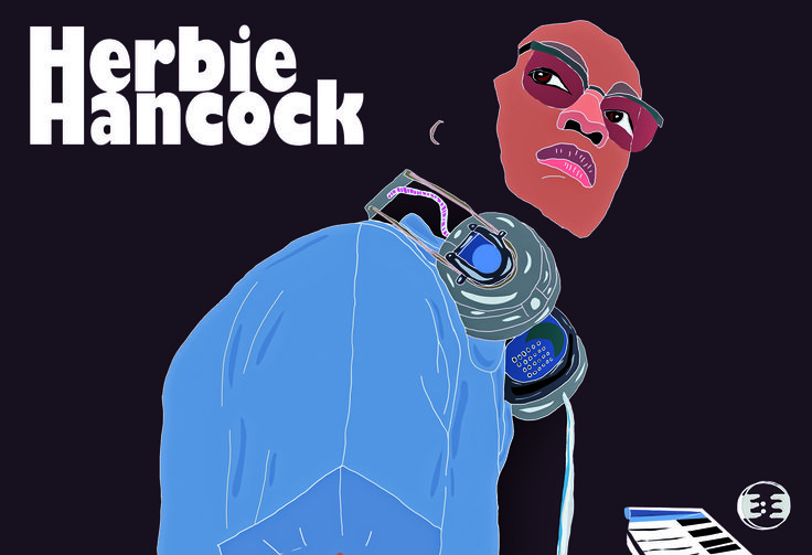 Herbie Hancock by Eva Mirror 2014