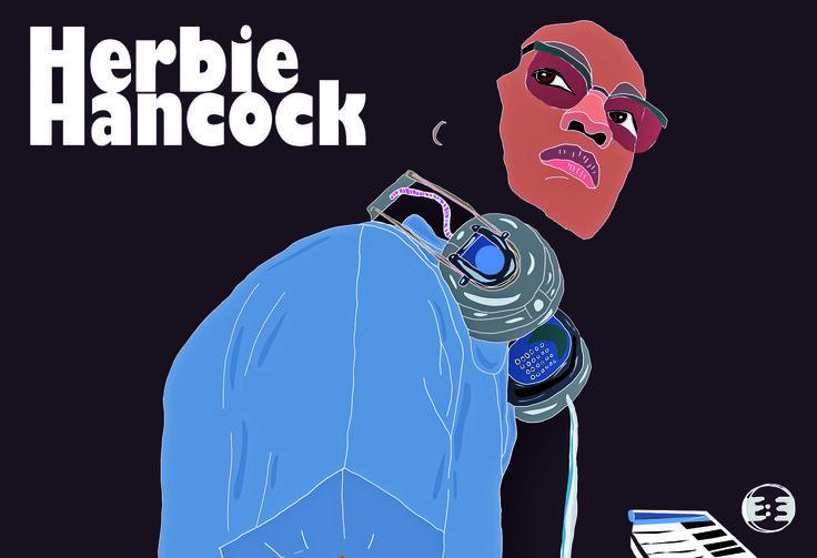 Herbie Hancock by Eva Mirror 2014