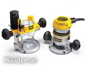 Wood Router Reviews: If you're in the market for a new router, you're in luck. http://www.familyhandyman.com/tools/routers/wood-router-reviews/view-all
