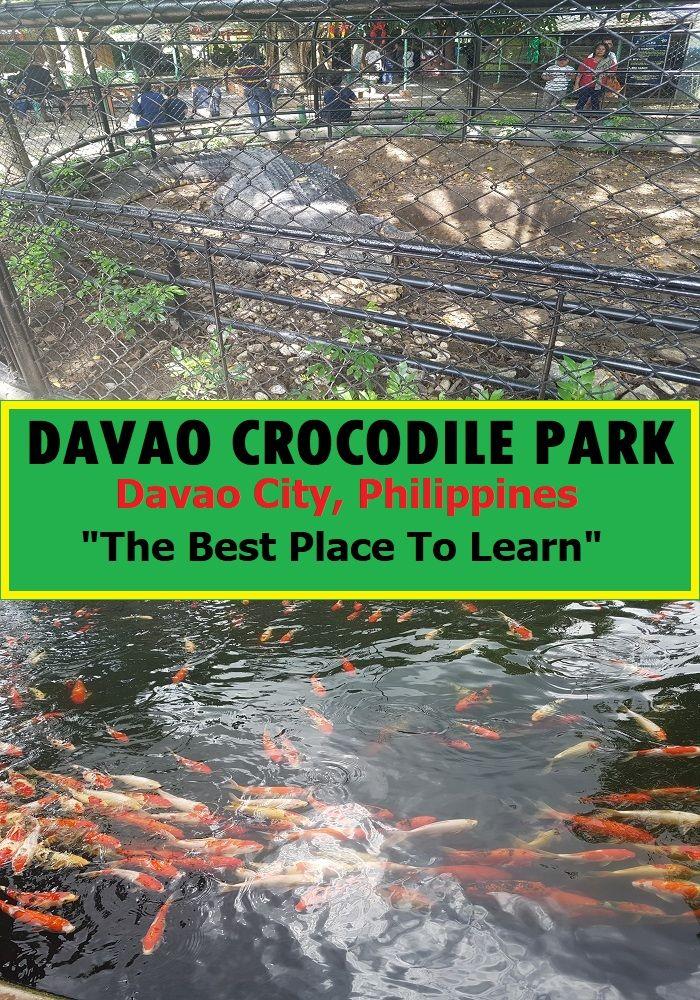 Davao Crocodile Park A Great Place To Appreciate Nature Davao