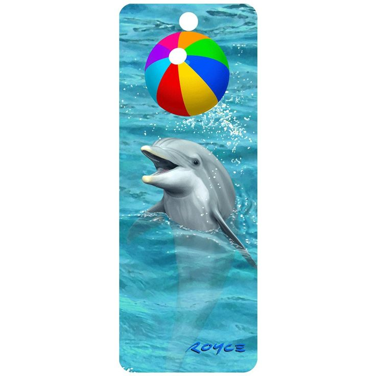 3D Dolphin Beach Ball Bookmark. Lots of Cheatwell Games 3D bookmarks in stock. Buy yours today.