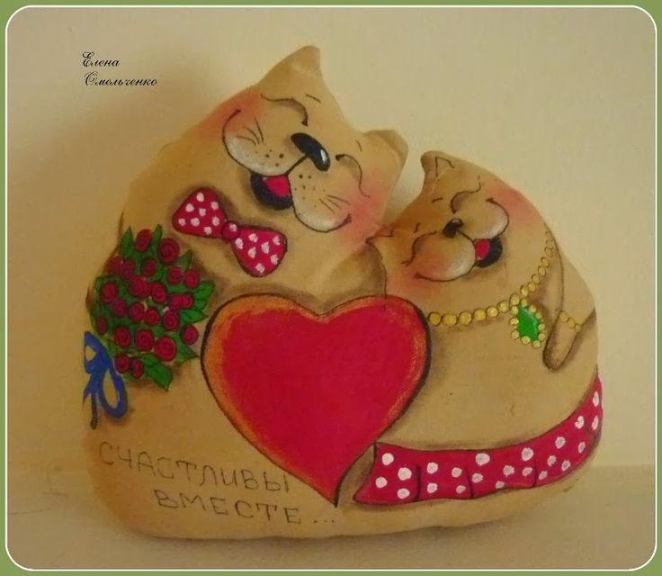 Куклёнки от Алёнки: Сладкие парочки ко дню всех влюбленных.