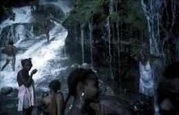HAITI. 1987. Saut D'eau pilgrimage.