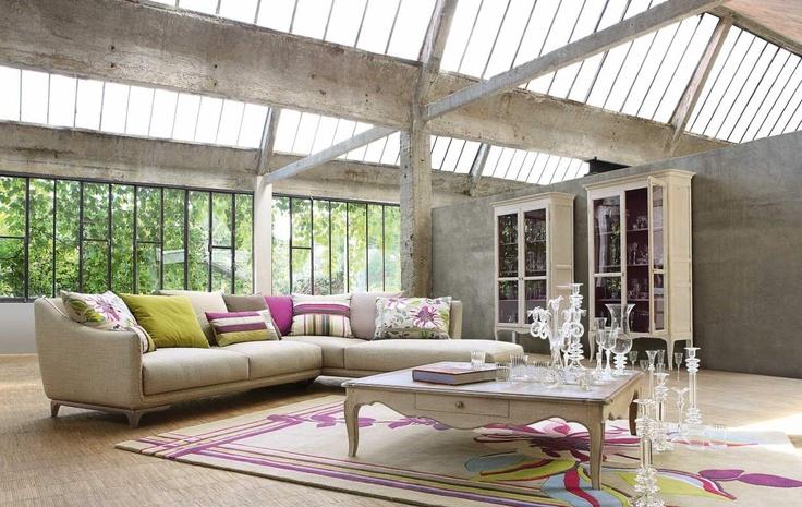 98 best roche bobois images on pinterest modern patio - Canape roche bobois kenzo ...