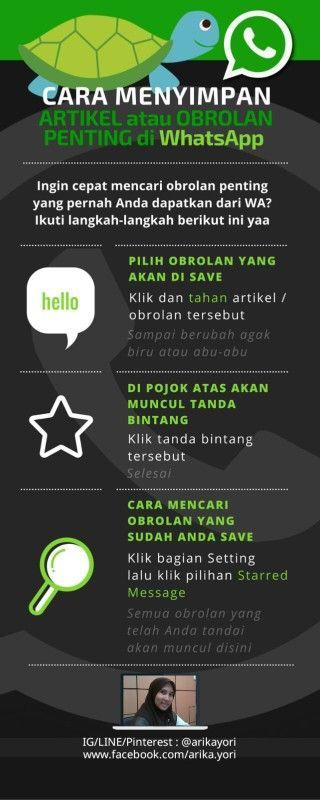 Cara Menyimpan Obrolan Penting di WhatsApp