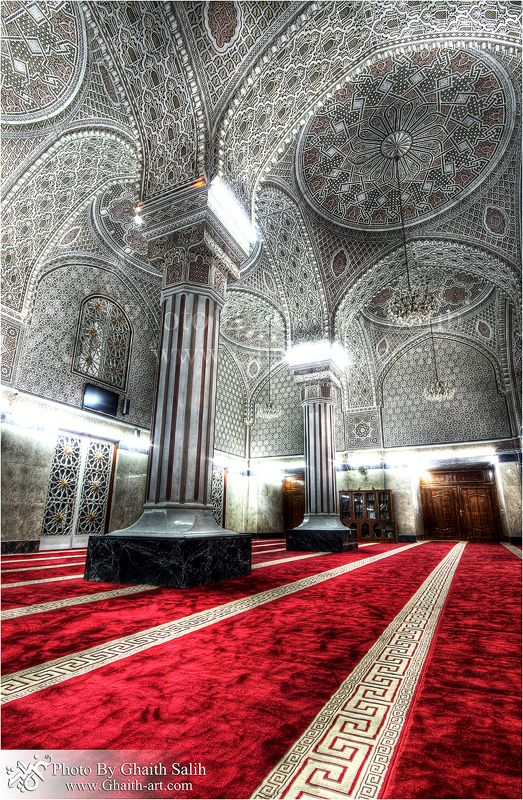 both the design and the photography are great here -Z Mosque of Sheikh Abu Hanifa in Baghdad, Iraq
