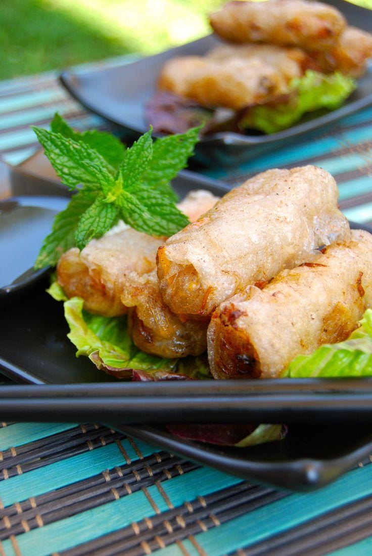 Les 25 meilleures id es concernant recette nems crevette Nems vietnamiens