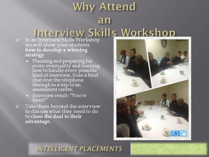 Why Attend one of our Interview Skills Workshop
