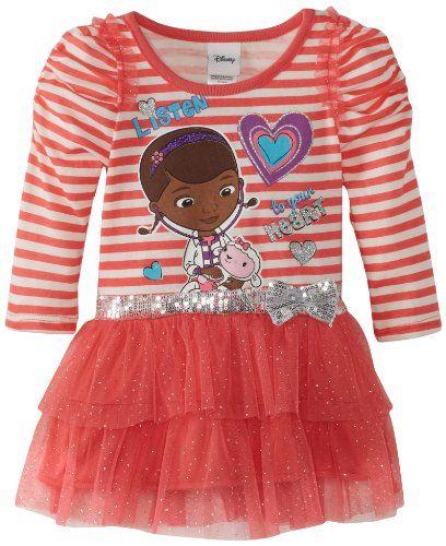 Disney Girls 2-6X Toddler Doc McStuffins 1 Piece Listen To Your Heart Dress, Coral, 2T Disney http://www.amazon.com/dp/B00D4IYAAQ/ref=cm_sw_r_pi_dp_bamOtb00700PVNZQ