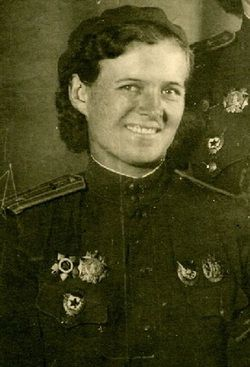 Major Evdokia Davydovna Bershanskaya Commander - 46th ...