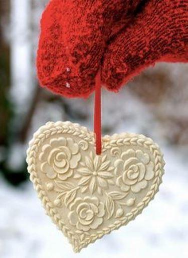 10 csodaszép, szív formájú karácsonyfadísz - Nők Lapja Café