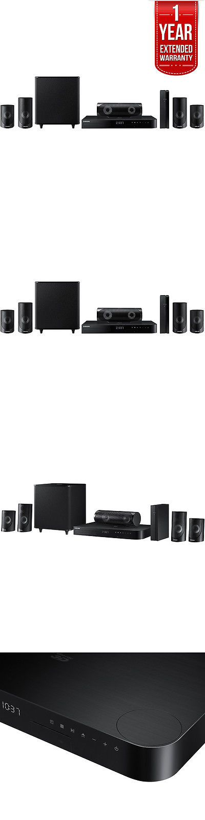 Home Theater Systems: Samsung 5.1Ch 1000W 3D Blu-Ray Home Theater System B.Tooth W Extended Warranty -> BUY IT NOW ONLY: $327.99 on eBay!