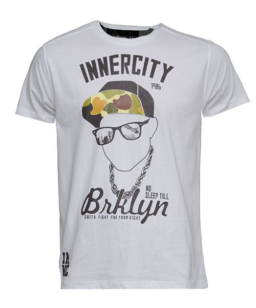 Urban Clothing | Hip Hop Clothes | Fashion Wear | Magic Streetwear Innercity Mens T-Shirts No Sleep (White)