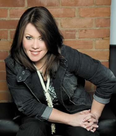 Jann Arden.....amazingly talented singer songwriter.  Check her out if you havent yet.