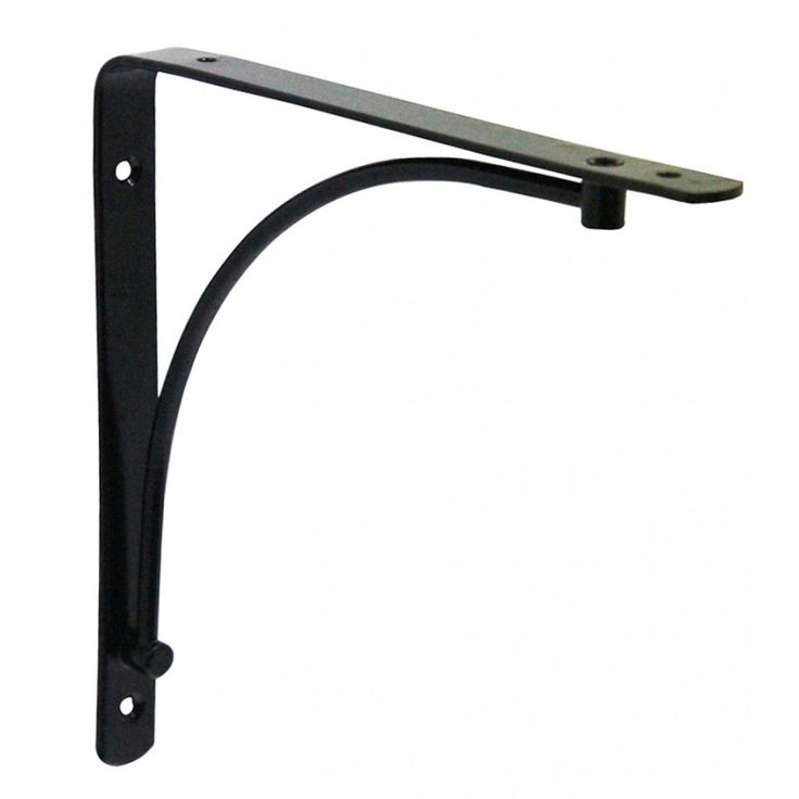 Shelf Bracket - Black - 200mm x 200mm GELMAR R34.99