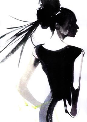 David Downton.  Inspiration for hair accessories at Monica Hahn Photography